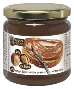 Choco hazelnut spread from Amanprana