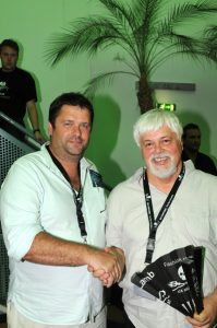 Paul Watson is de kapitein van Sea Shepherd