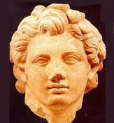 Alexander der Große rasierte seinen Bart und Griechenland begann einen neuen Trend der Rasur Bärt.