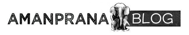 logo van Amanprana blog