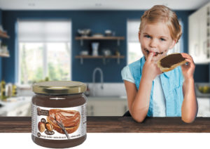 Choco hazelnut spread daughter