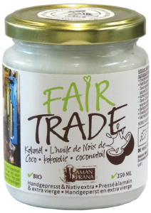Coconut oil – Fair Trade 250ml