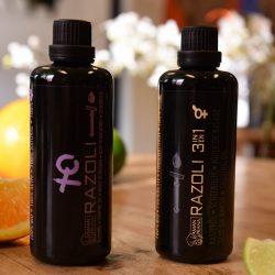 Weniger Wunden oder Kratzer beim Rasieren mit Rasierklingen dank Razoli Rasieröl.