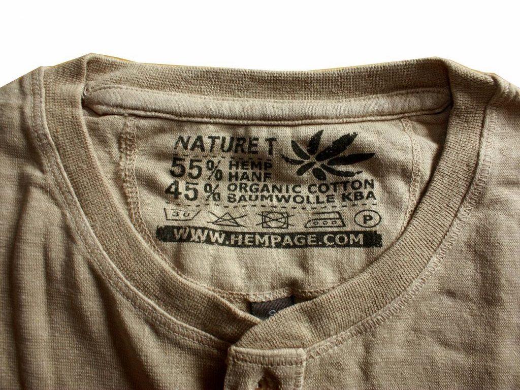 Duurzame kleding van Hempage bevat geen microplastics die in ons water terecht kunnen komen.