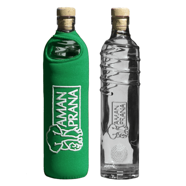 Amanprana Eco-Respekt waterfles groen