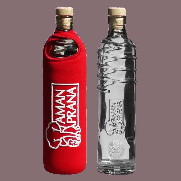 Amanprana Eco-Respekt waterfles rood
