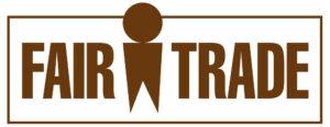 Het Fair Trade logo gedragen door producten van Amanprana