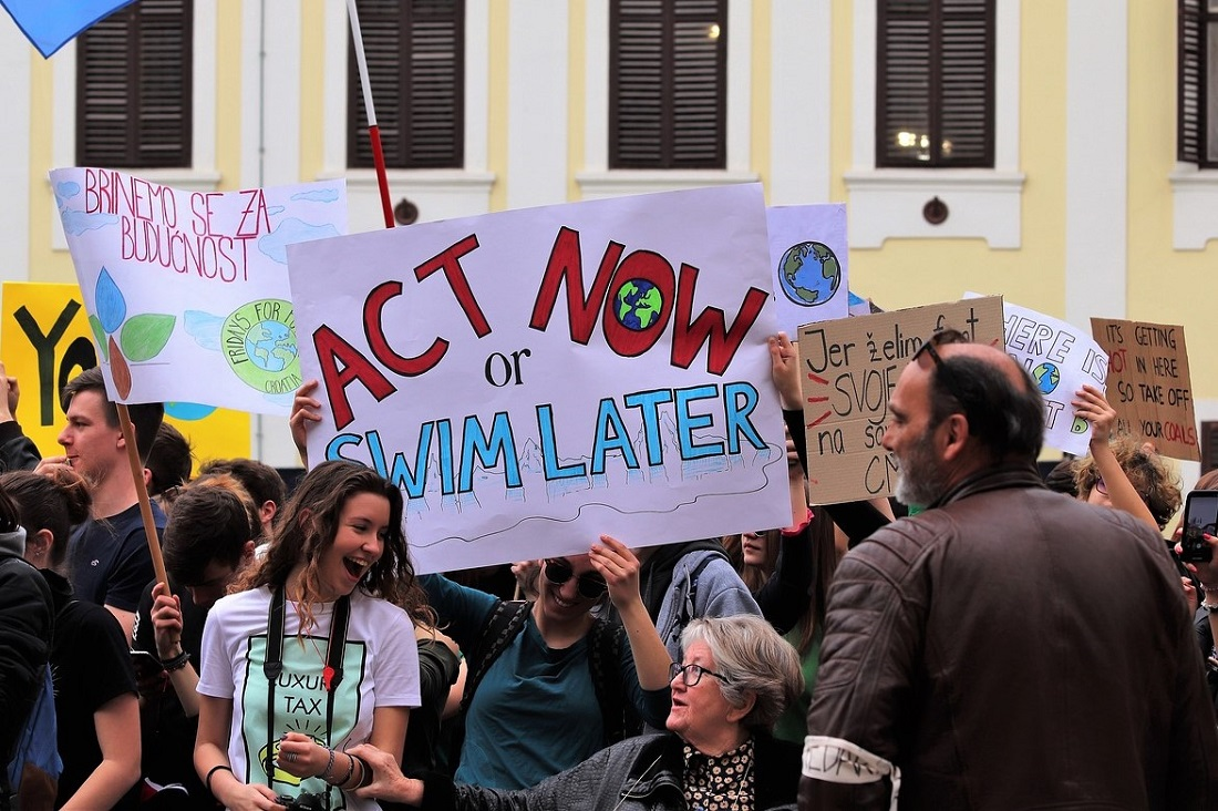 Fridays for future is an Italian initiative for climate action.