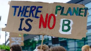 There is no plan B for our planet