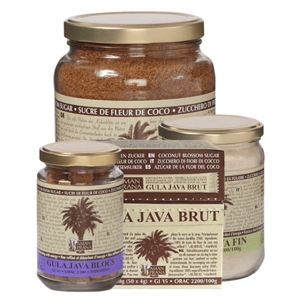 Coconut blossom sugar from Amanprana