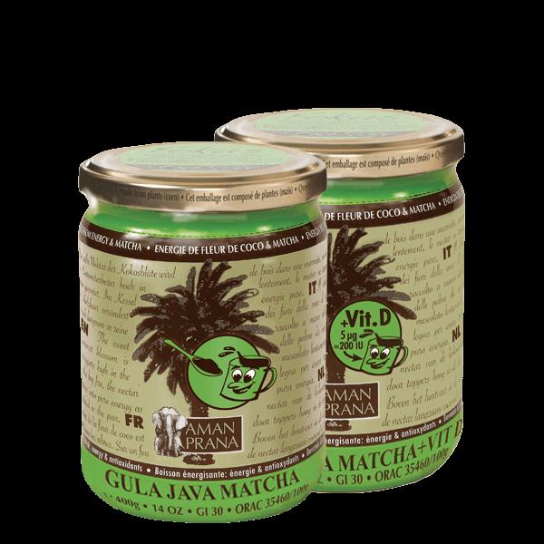 Gula Java Matcha de Amanprana (con vitamina D)