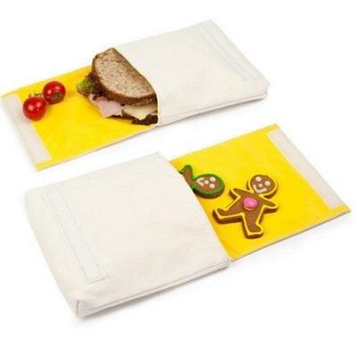 Kies voor herbruikbare lunchzakjes van Fluf in plaats van een plastic boterhamzakje