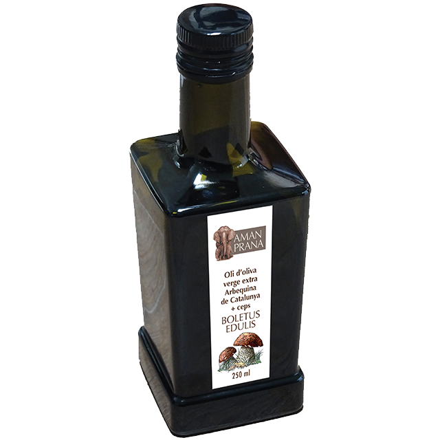 Boletus Arbequina Extra Virgin Olive Oil from Amanprana