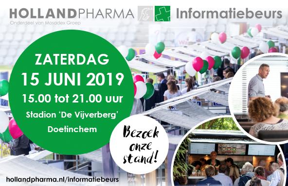 Holland Pharma informatiebeurs met Amanprana op 15 juni 2019
