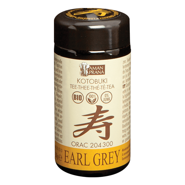 Kotobuki Earl Grey thee van Amanprana