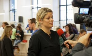 NSC meter Kim Clijsters press presentation Amanprana North Sea Challenge 2014