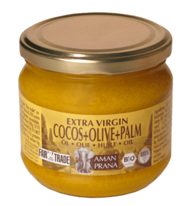 Coconut, olive + red palm oil 325ml