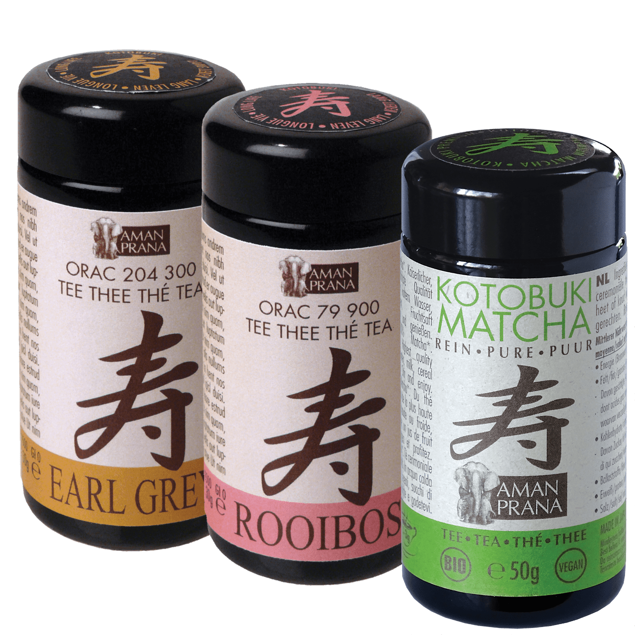 Sustainable Glass Packaging for the Amanprana Kotobuki Tea