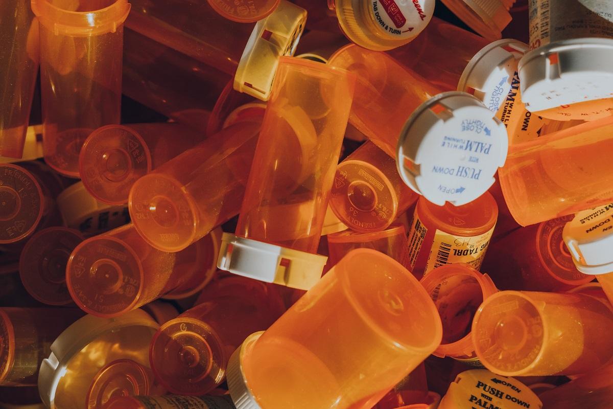 Antibiotika-Verpackungen, die auch in den Flüssen zu finden sind.