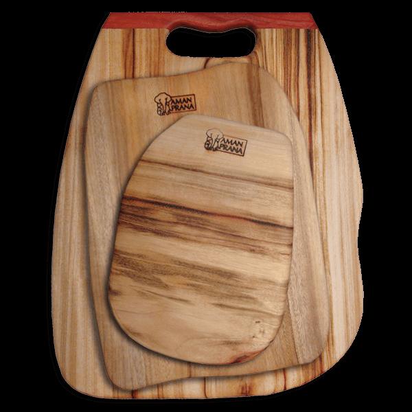 Amanprana Qi-board houten snijplanken