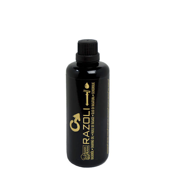 Razoli organic shaving oil for men Amanprana