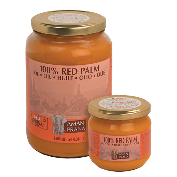 Amanprana Red Palm Oil.