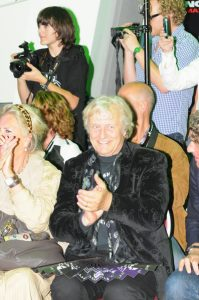 Rutger Hauer et son femme Sea shepherd Night of the oceans 2010