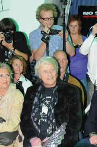 "Rutger Hauer en vrouw - Sea Shepherd ""Night of the oceans 2010"""