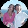 Veronique Vynck & Ludo Slaets van gezondheidscentrum Vitruvius, fan van Amanprana