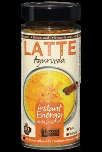 Latté Ayurveda van Amanprana met chai-kruiden