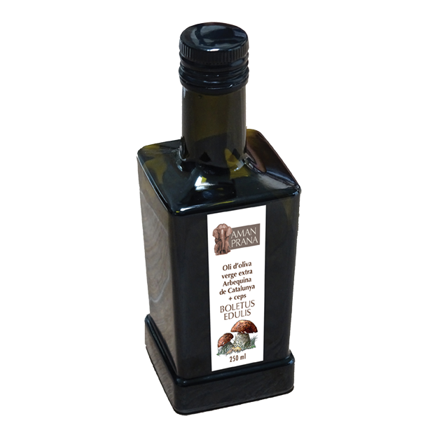 Mild Olive Oil Arbequina with Boletus Mushroom from Amanprana
