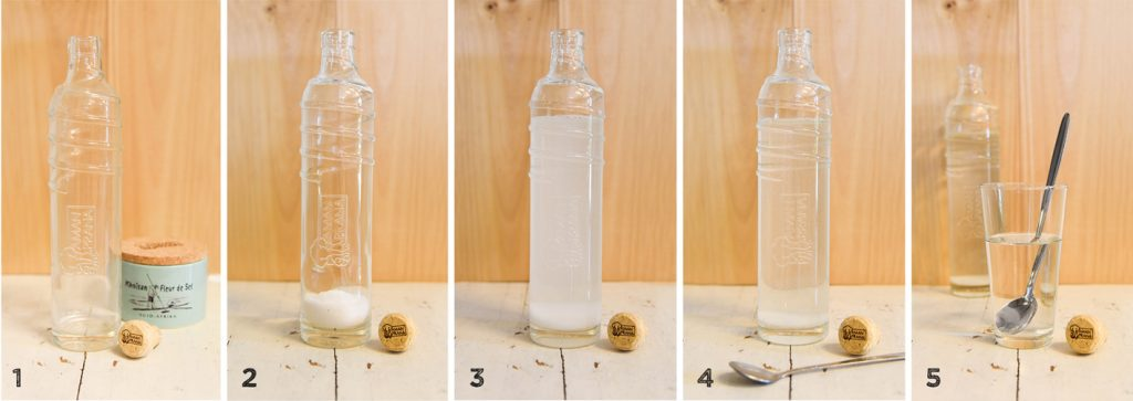 Was ist Sole? Stellen Sie Sole mit hochwertigem Salz her: Khoisan Fleur de Sel von Amanprana