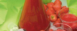 recette pour smoothie fraise-rhubarbe