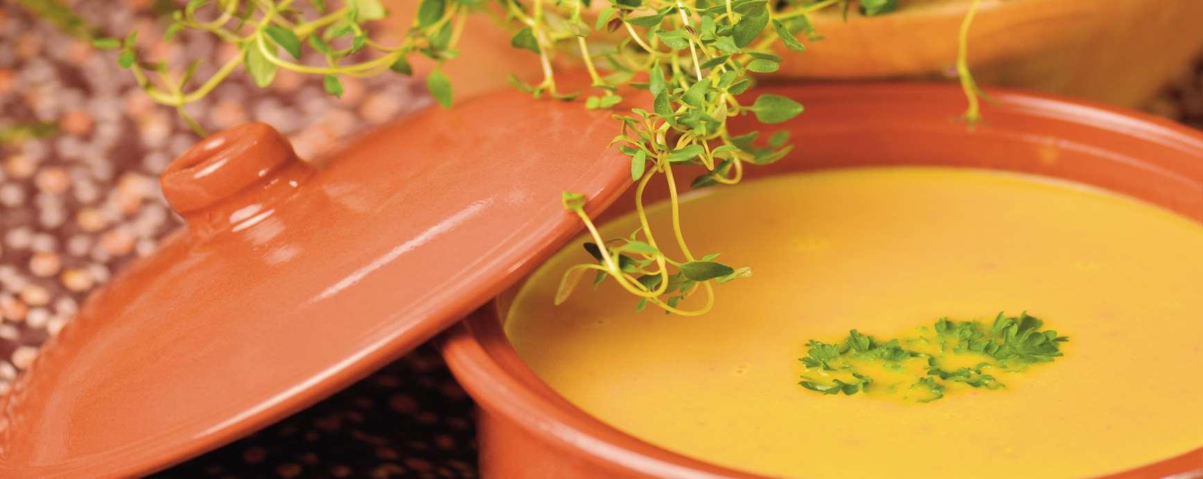Recette de soupe de potiron africaine contre la perte d'énergie pendant les jours sombres