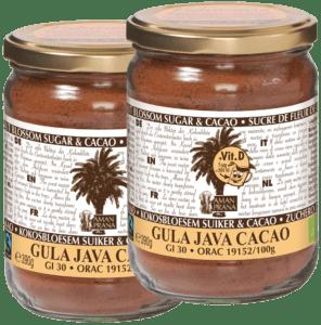 Gula Java Cacao – GJ Cacao + vitamina D 390gr