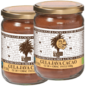Gula Java Cacao – GJ Cacao+ vitamine D 390gr
