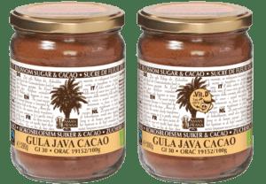 Gula Java Cacao – GJ Cacao + vitamina D 390gr Delantero