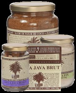 Azúcar de flor de coco Gula Java