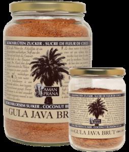 Gula Java brut 1000gr en 310gr