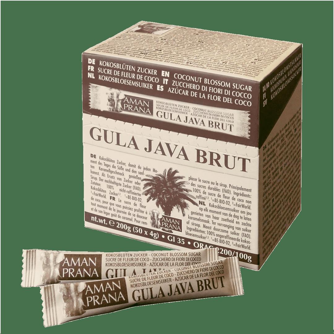 Gula Java Brut Zuckertütchen von Amanprana