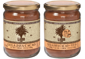 Gula Java Cacao – GJ Cacao + vitamin D 390gr Front