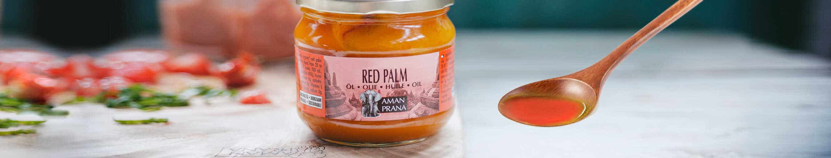 Red Palm Oil from Amanprana: Sustainable and Certified Organic