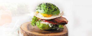 Recept met <br /> Premium Amanprana extra vierge olijfolie: Keto burger