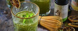 Recept met matcha: Alkoholfreier Cocktail