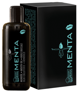 Amanprana Mouth Oil Menta Packaging