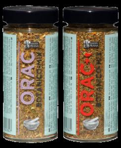 Orac Mild y Spicy Botanico mezcla de especias