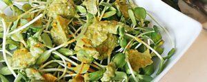 Recept met kruidenmixen: Avocado dip met peterselie, tarwekiemen en komijn