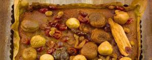 Recept met kokosolie: Ayurvedische cake met gedroogde vruchten