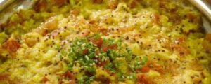 ayurvedische toor daal (gele linzen) met rode palmolie