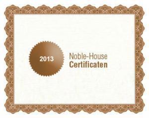 Noble-House bio certificaat 2013